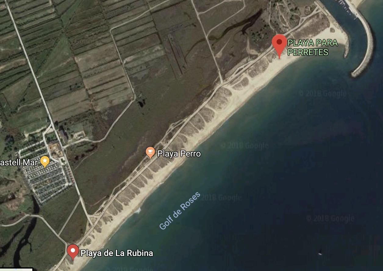playa canina La rubina