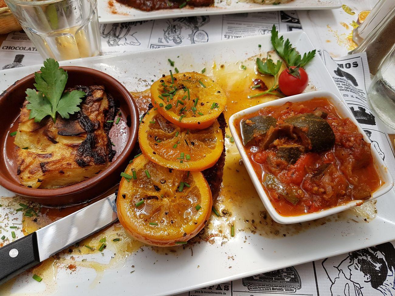 comida en Saintes Maries de la Mer