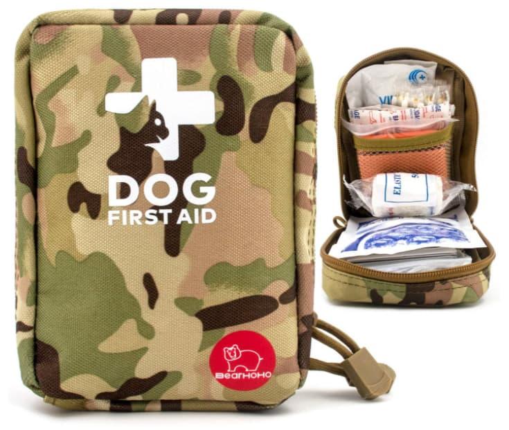 Kit de primeros auxilios para mascotas, kit de primeros auxilios de emergencia