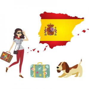 Viajar con perro por España